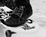 Ramp N Roll A graphic concept by Sam Bird for a fictive Skateboard brand